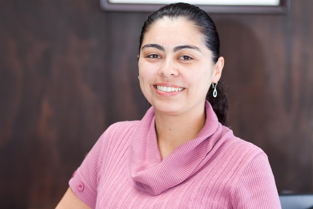 KAREN CORREA, Directora de Geología (Concepción).