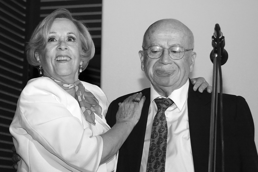 Actriz Delfina Guzmán en semana de homenaje realizado por la Fundación Gonzalo Rojas.