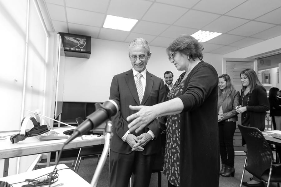 Inauguración de los laboratorios de Terapia Ocupacional UNAB.