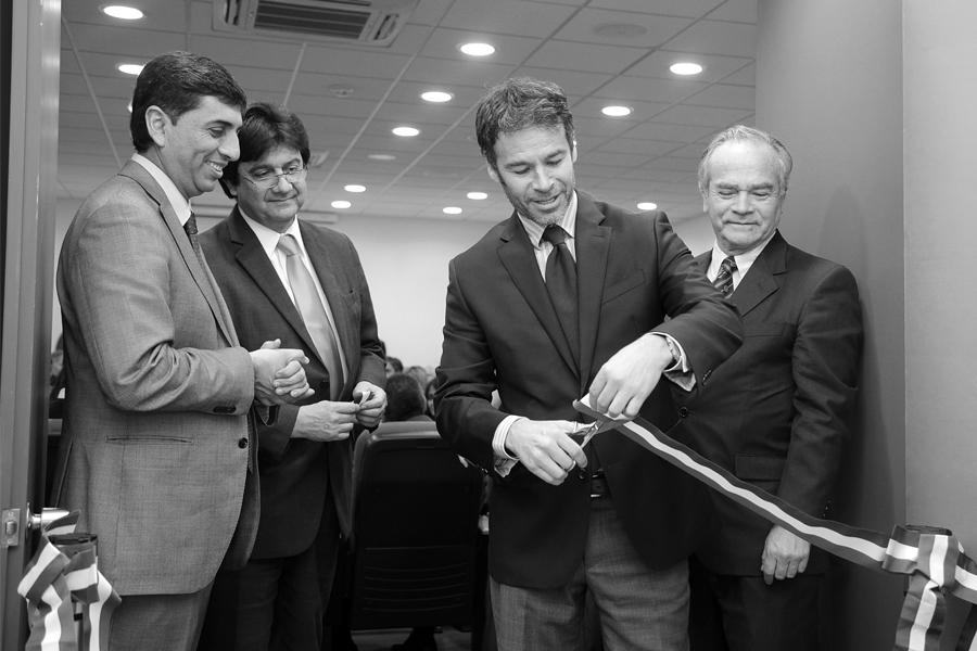Inauguración de las nuevas dependencias en el Hospital El Pino (septiembre 2015).