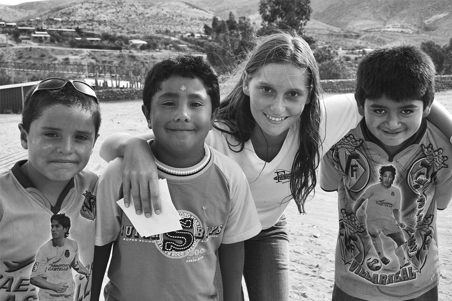 Trabajos de Verano en Socos (4ta región, 2007).