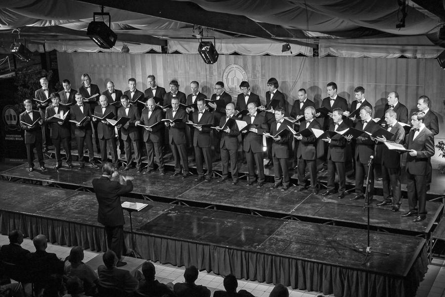 Visita coro Thuringer (2008).