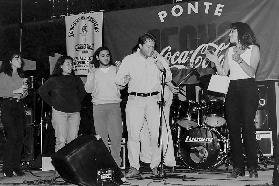 V Olimpiadas Universitarias en Campus Casona (1996).