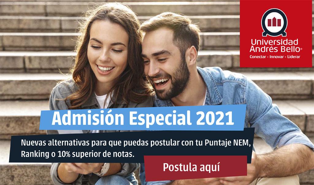 Admisión Especial 2021