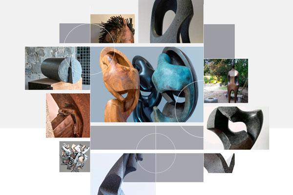 Exposición de escultores UNAB