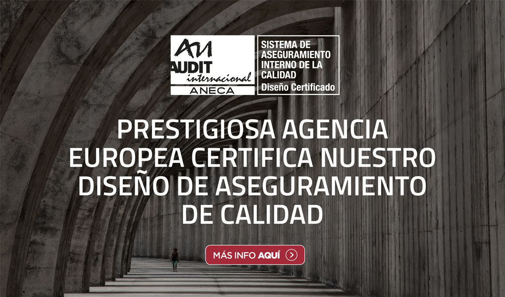 Prestigiosa agencia europea certifica nuestro diseño de aseguramiento de la calidad unab