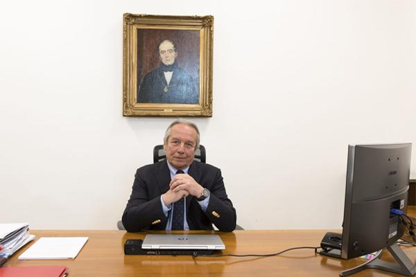 Rector Julio Castro participó en conversatorio sobre Educación Superior y nueva Constitución junto a sus pares Ignacio Sánchez y Ennio Vivaldi