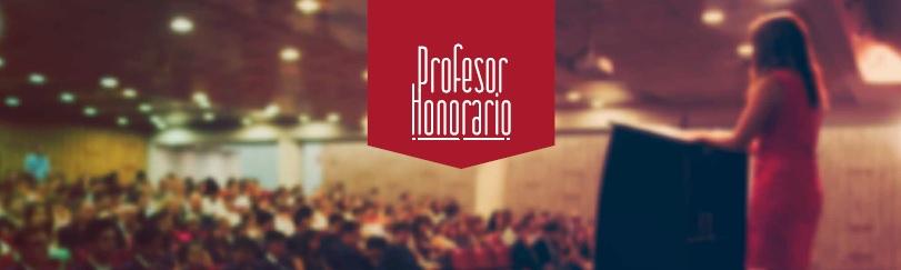 Profesor Honorario UNAB